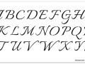 M0040 Italiano Font Stencil