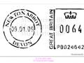 M0043_Newton Abbot Postal Mark