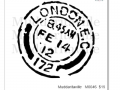 M0046_London Feb 14th Postal Mark