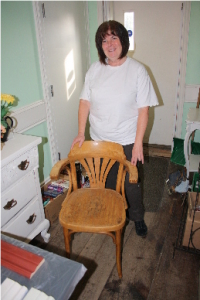 Margaret W with Chair