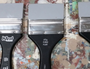 flat firm brushes