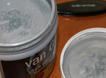 van Gogh glamour glaze