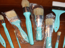 stan portley's paintbrushes